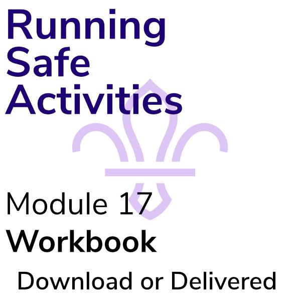 Running Safe Activities – Workbook