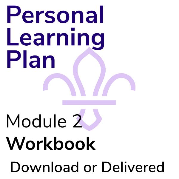 Personal Learning Plan – Workbook