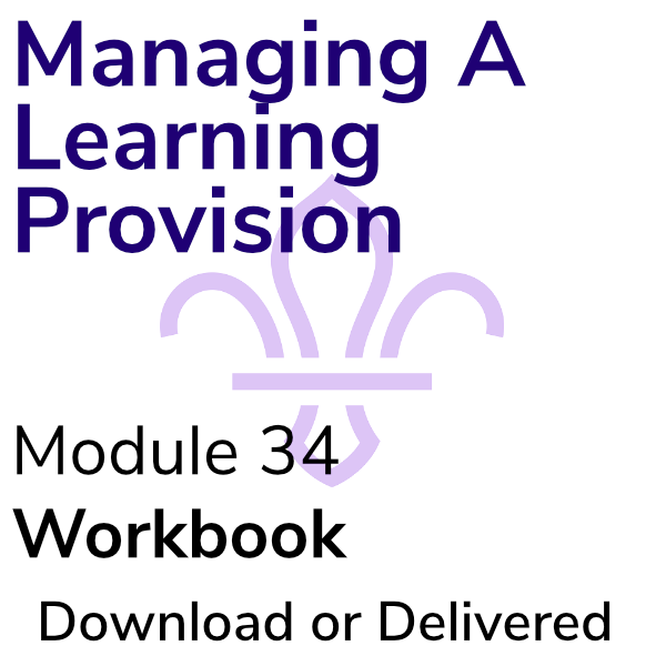 Managing A Learning Provision – Workbook